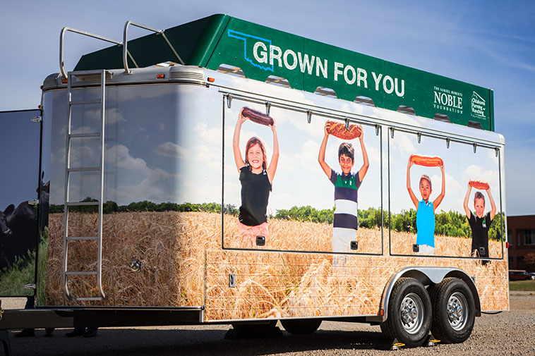 The Grown For You Commodity Trailer